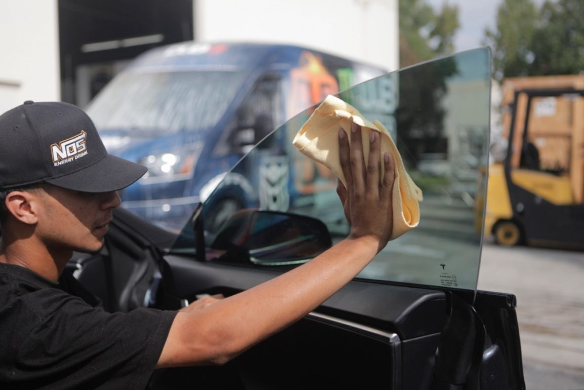 PROPER CARE & CLEANING OF TINTED WINDOWS